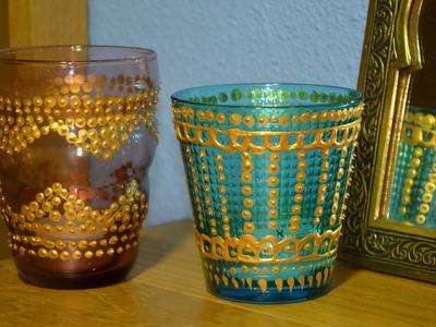 DIY - Vaso para velas