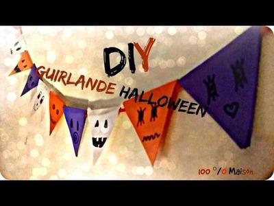 DIY- Guirlande pour Halloween 100% maison