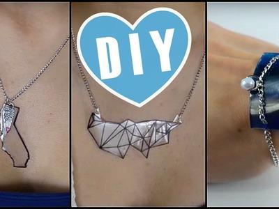 DIY: PLASTIC Jewelry?!