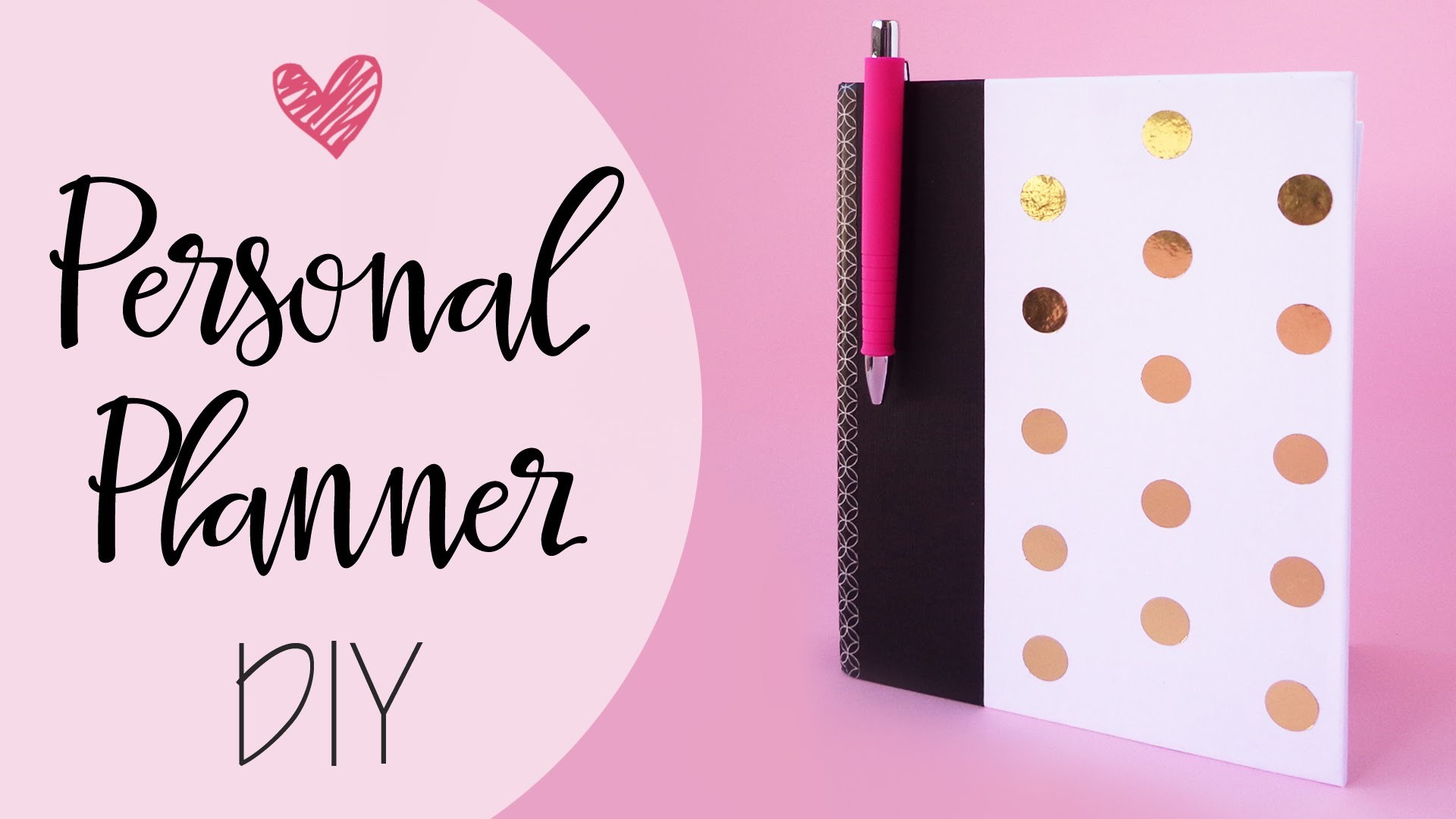 Tuto: Planner Personale fai-da-te - ENG SUBS Personal Planner diy