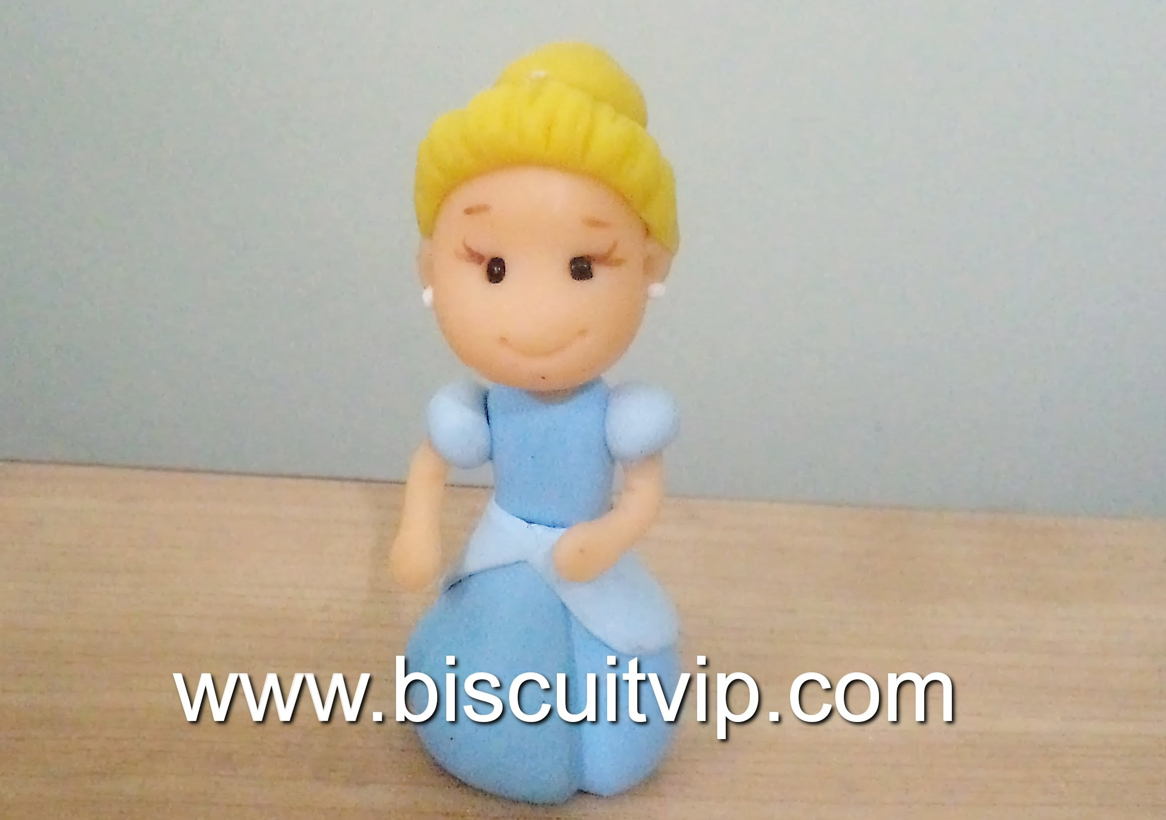 Baby Princesas Disney - Cinderela - Canal Aula de Biscuit