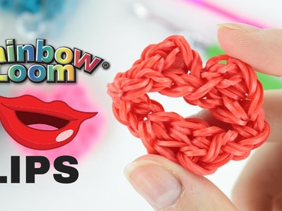 Big lips RAINBOW LOOM rainbowloom bands LABBRA con elastici niky minaj
