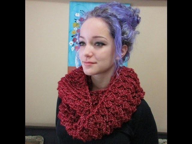 Crochet Bufanda Circular o infinita  3d Para San Valentin - Con Ruby Stedman