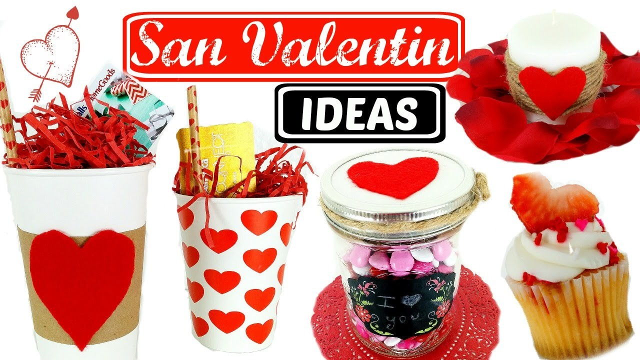 DIY- IDEAS PARA SAN VALENTIN FACILES Y BONITAS | SOY CAT