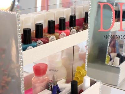DIY Organizador de Esmaltes -(GIRATORIO)-  Spinning Manicure Station