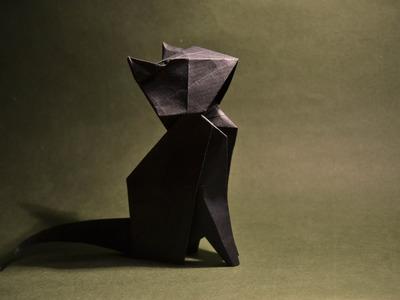 Origami  - Cat