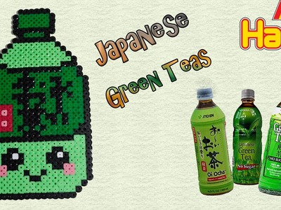 Tè Verde con Hama Beads. Perler Beads Japanese Green Teas - Drink Series Tutorial