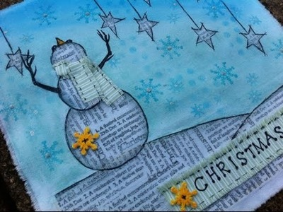 A Faber-Castell Design Memory Craft Tutorial   Painting on Fabric