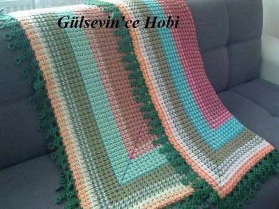 Crochet Patterns| for free |Crochet Baby Blanket| 613