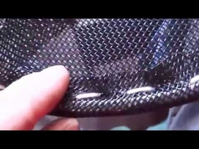 Diy acoustic to electronic drums  diy mesh drum heads part 1