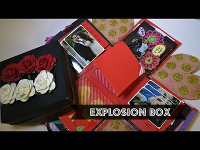 DIY Explosion Box: Anniversary Gift for BF