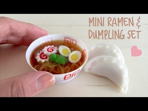 DIY Mini Ramen & Dumpling Japanese Candy kit - Kracie Pop 'n Cook