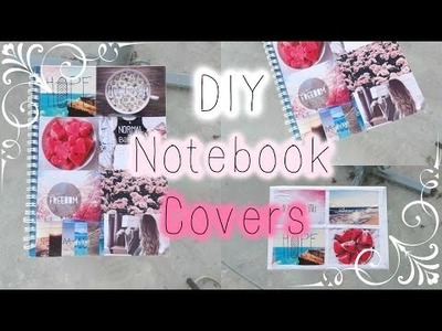 DIY NOTEBOOK COVERS ❀ for Back to School 2015! ❀ Tumblr Inspired │ZESZYTY DIY ❀
