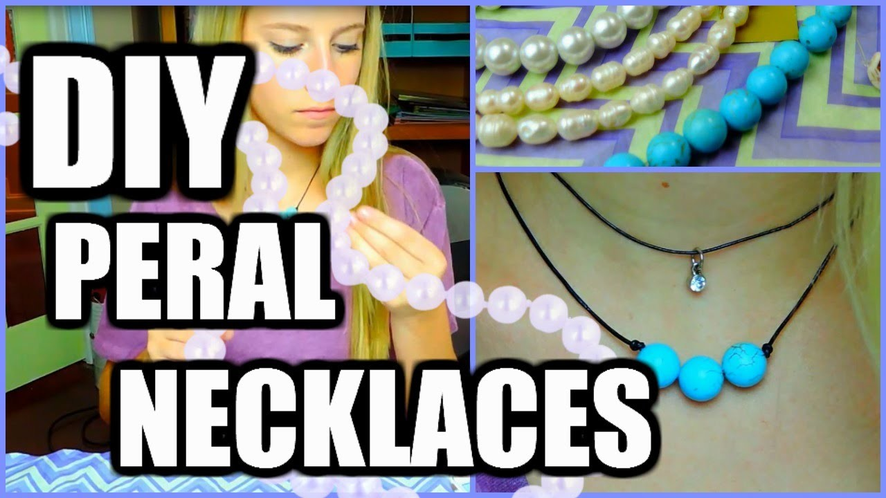 DIY Pearl Necklaces!!!| Very Easy and Cheap!