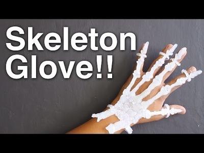 DIY Skeleton Glove!!