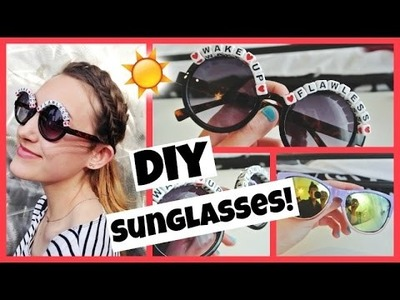 DIY Sunglasses. Spring 2015