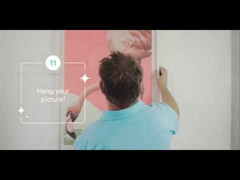 Handy DIY I How to hang a picture