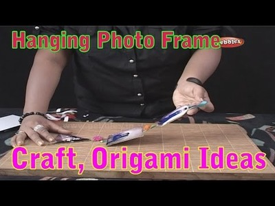 Hanging Photo Frame | Learn Craft For Kids | Origami For Children | Craft Ideas | Craft With Paper