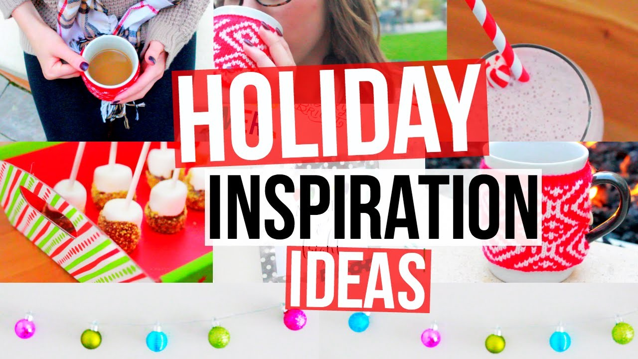 Holiday Inspiration! Favorites, DIY Decor, Treats, & More!