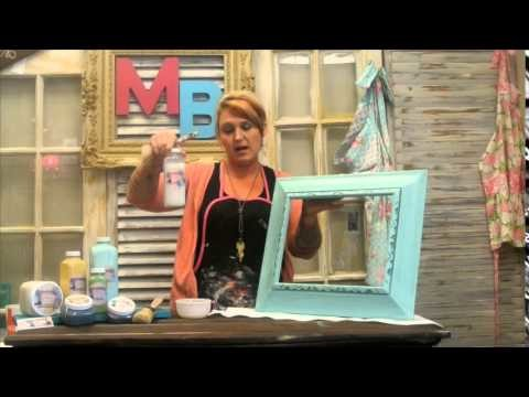 How to apply Madame Butterfly Sealer | Chalk Paint Tutorial