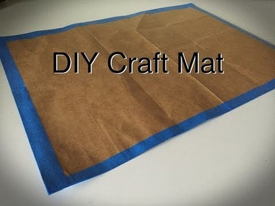 How to Make a Craft Mat | Upcycle Tutorial