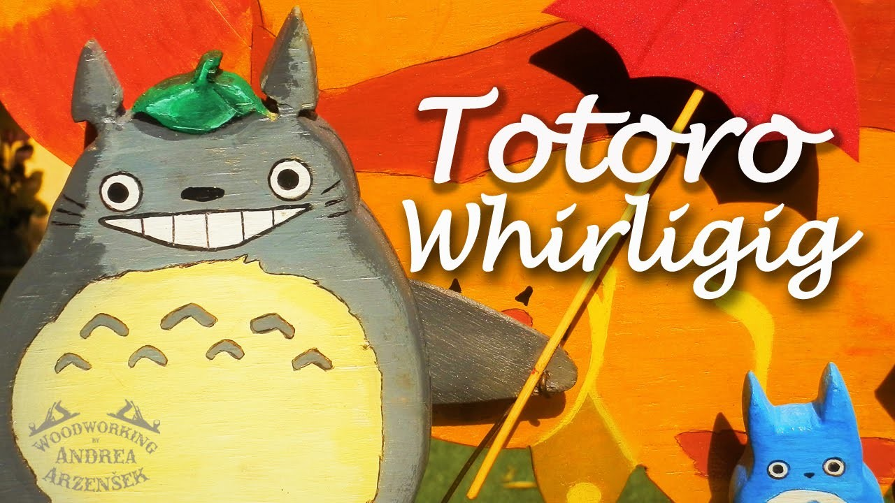How to make a Totoro Whirligig -  Ep 033 (Whirligig Wars 2015)