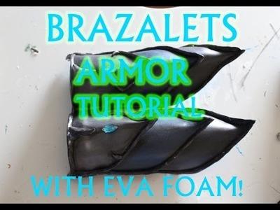 How to make Armor Brazalets with Eva Foam.DIY Tutorial