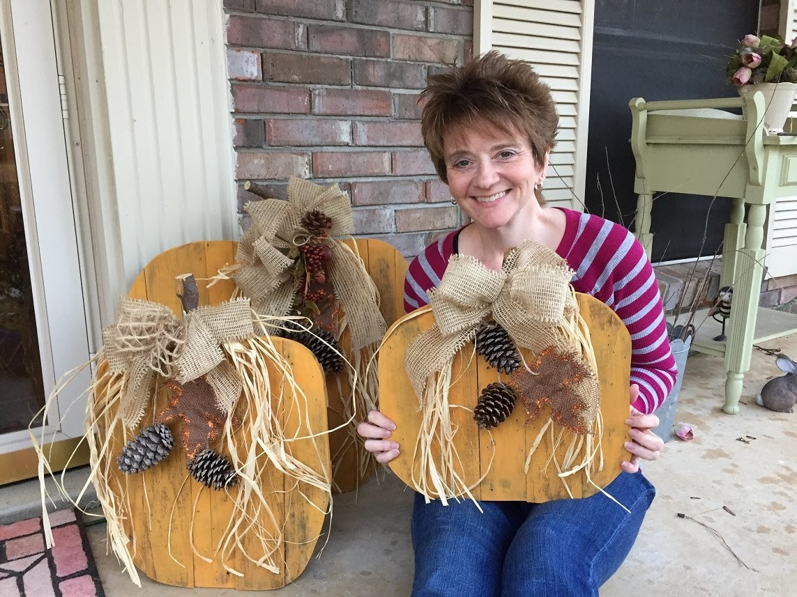 How to make Pallet Pumpkins Tutorial