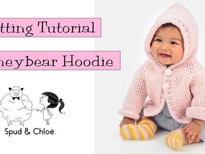 Knitting Tutorial - Spud & Chloë Honeybear Hoodie