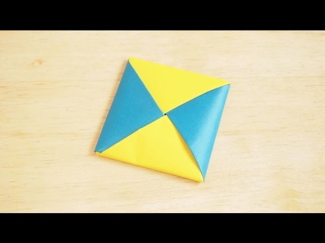 Making an Origami Menko Box - Origami Instructions