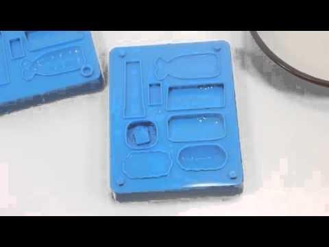 Play doh - disney - DIY How To Make 'Sushi Eraser Miniatures' Konapun Toys Kit!!