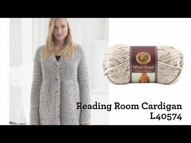 Reading Room Cardigan Project