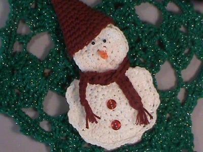 Snow Man Gift Card Cozy