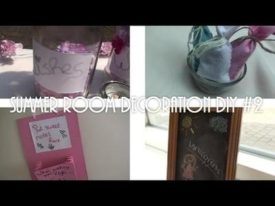 Summer room decoration DIY #2!!