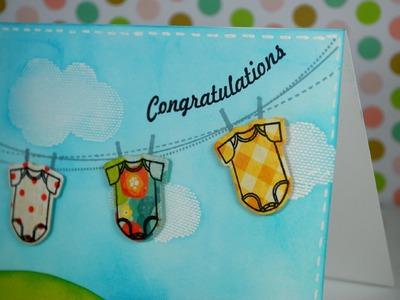Baby Onesies Card