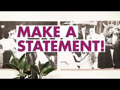 Back to school : statement wall art