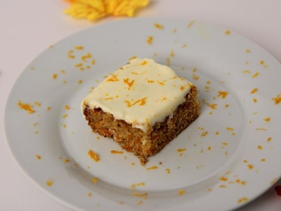 Carrot Cake Bars Recipe - Laura Vitale - Laura in the Kitchen Episode 465