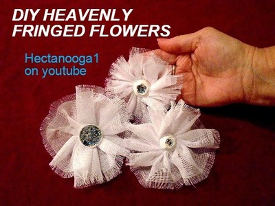 CELESTIAL FABRIC flower, ethereal, lightweight, fashion flower