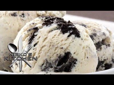 COOKIES & CREAM ICE CREAM - VIDEO RECIPE