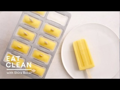 Dairy Free Mango Ice Pops - Eat Clean with Shira Bocar