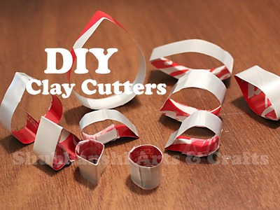 DIY - Clay Cutters from Soda cane | Cookie.Clay cutters using Coke Cane