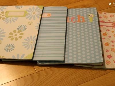 DIY: Cute Notebook Covers!