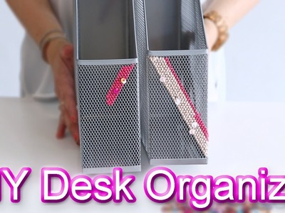DIY with DesignHer Co: DIY Desk Organizer!
