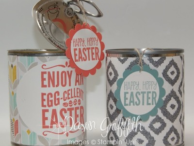 Easter Treats in a can with Dawn