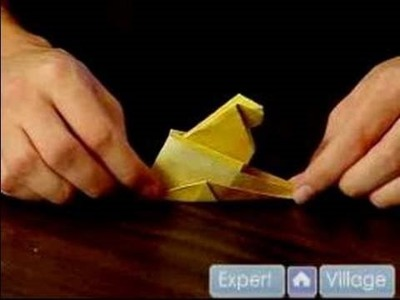 Easy Origami Folding Instructions : How to Make an Origami Sphinx