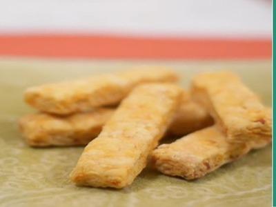 Easy Snack Recipe: Carrot Snack Sticks