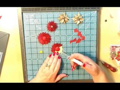 Envelope Punch Board Flowers