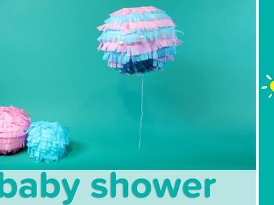 Gender Reveal Baby Shower Ideas: Boy or Girl Confetti Lantern | Pampers
