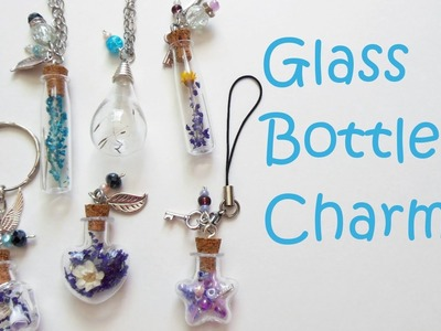 Glass Bottle Charms
