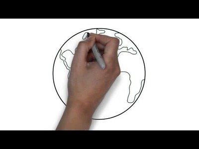 How To Draw Globe